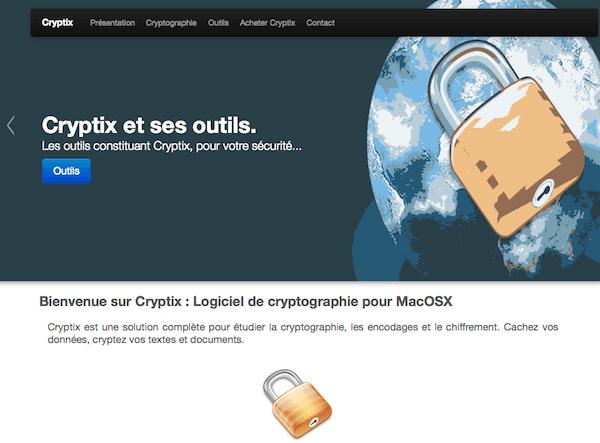 Sito web Cryptix