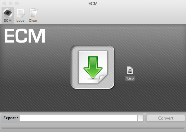 ECM Drag & Drop File